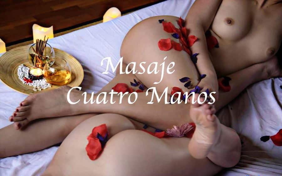Masaje Cuatro Manos